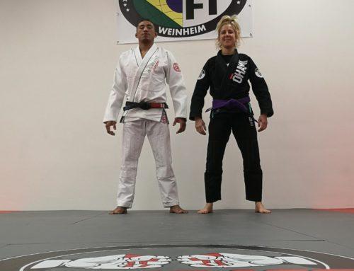BRAZILIAN JIU-JITSU MIT PROF CÉSAR FERNANDES (Black Belt 3°Dan)